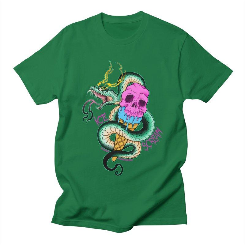 Ice Scream Men's Regular T-Shirt by Scoopie.Life