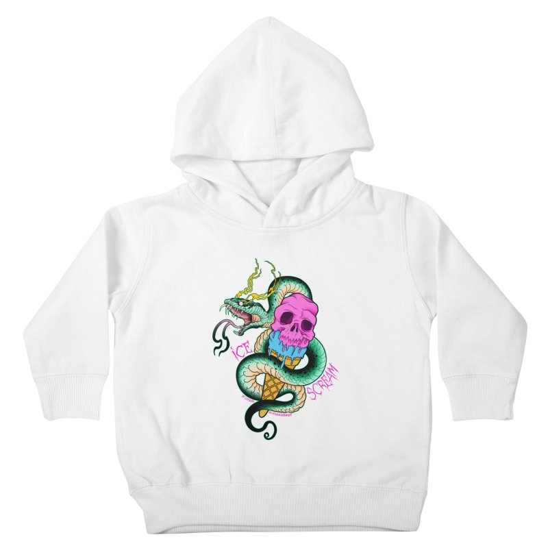 Ice Scream Kids Toddler Pullover Hoody by Scoopie.Life