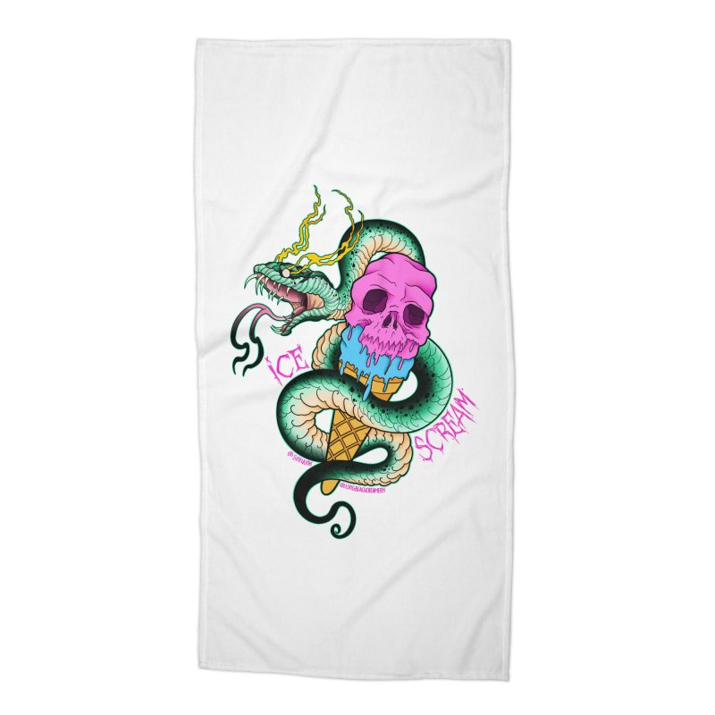 Ice Scream Accessories Beach Towel by Scoopie.Life