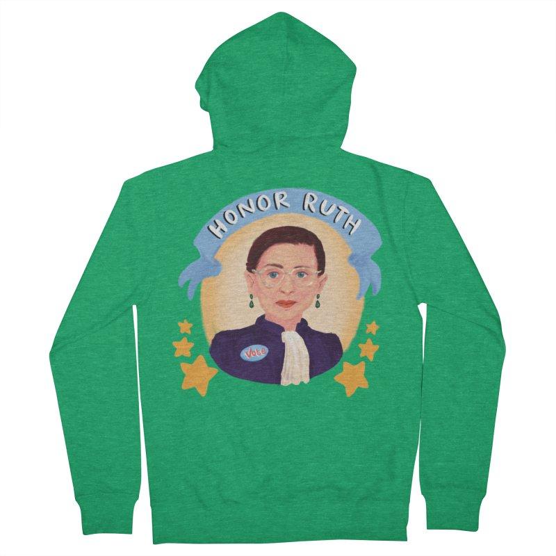 Honor Ruth Men's Zip-Up Hoody by Scoopie.Life