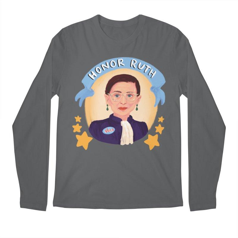 Honor Ruth Men's Longsleeve T-Shirt by Scoopie.Life