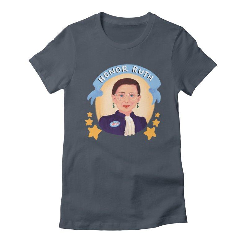 Honor Ruth Women's T-Shirt by Scoopie.Life
