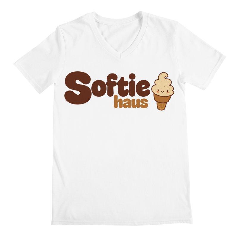 Softie Haus Men's V-Neck by Scoopie.Life