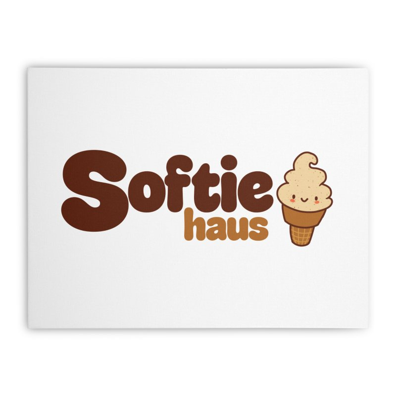 Softie Haus Home Stretched Canvas by Scoopie.Life