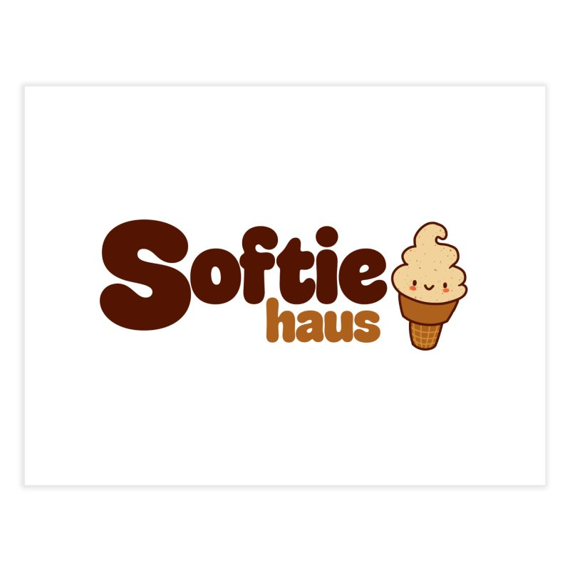 Softie Haus Home Fine Art Print by Scoopie.Life