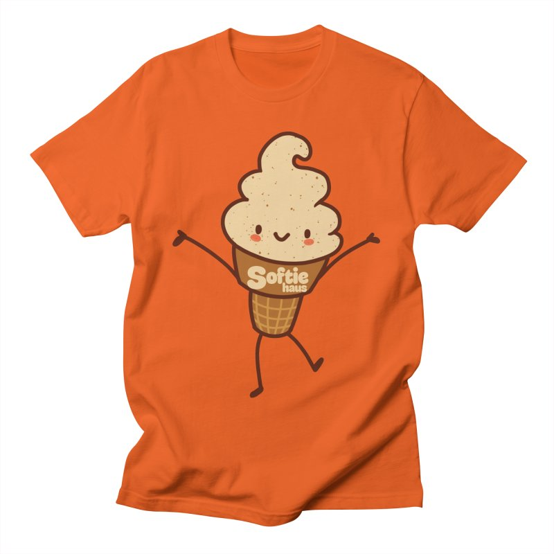 Softie Mascot Men's T-Shirt by Scoopie.Life