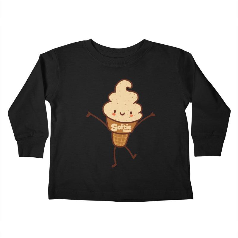 Softie Mascot Kids Toddler Longsleeve T-Shirt by Scoopie.Life