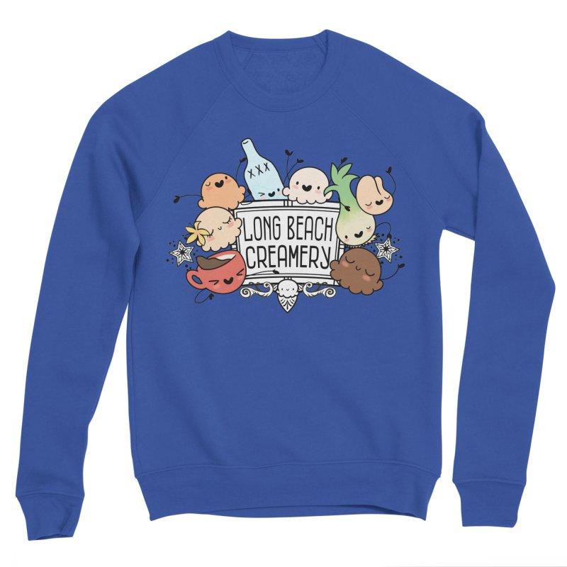 Long Beach Creamery Scoopie Logo Men's Sweatshirt by Scoopie.Life