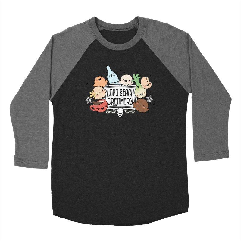 Long Beach Creamery Scoopie Logo Women's Longsleeve T-Shirt by Scoopie.Life