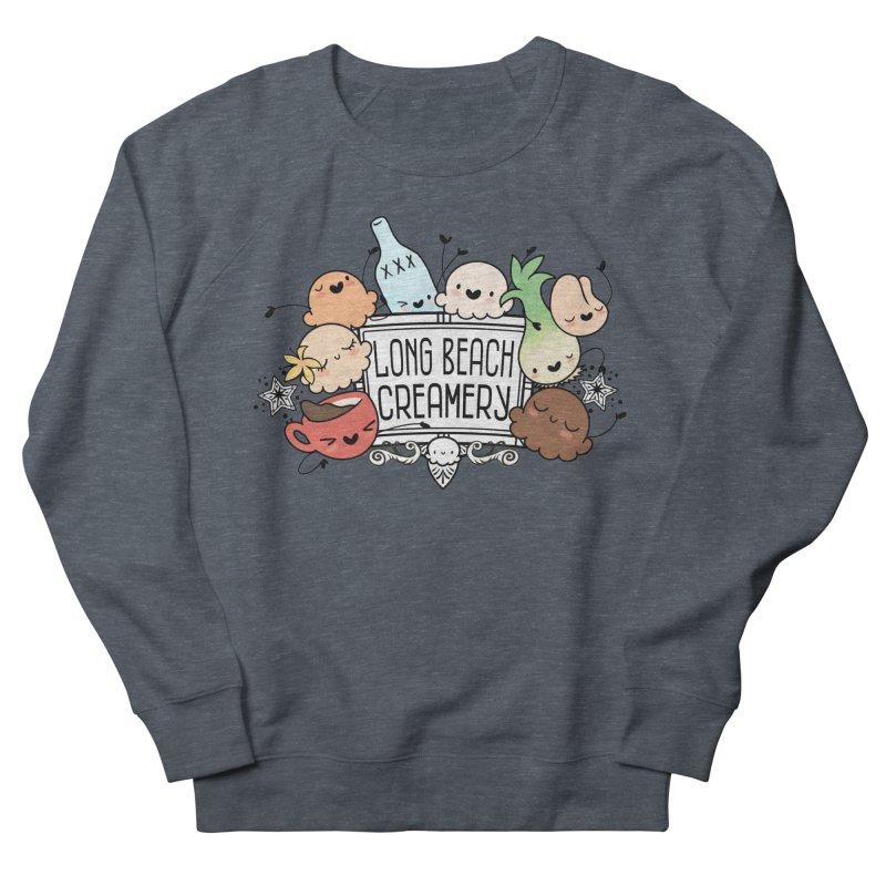Long Beach Creamery Scoopie Logo Women's Sweatshirt by Scoopie.Life