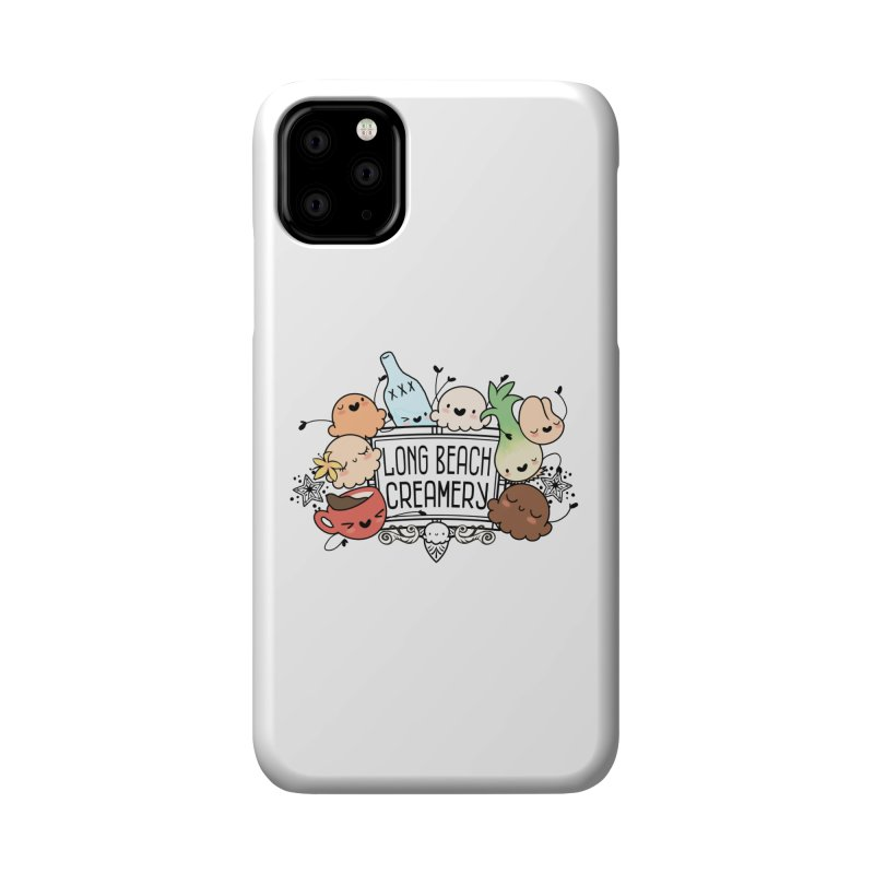 Long Beach Creamery Scoopie Logo Accessories Phone Case by Scoopie.Life