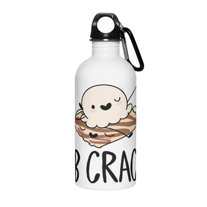 LB Crack Accessories Water Bottle by Scoopie.Life