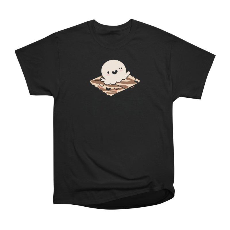 LB Crack Women's Heavyweight Unisex T-Shirt by Scoopie.Life