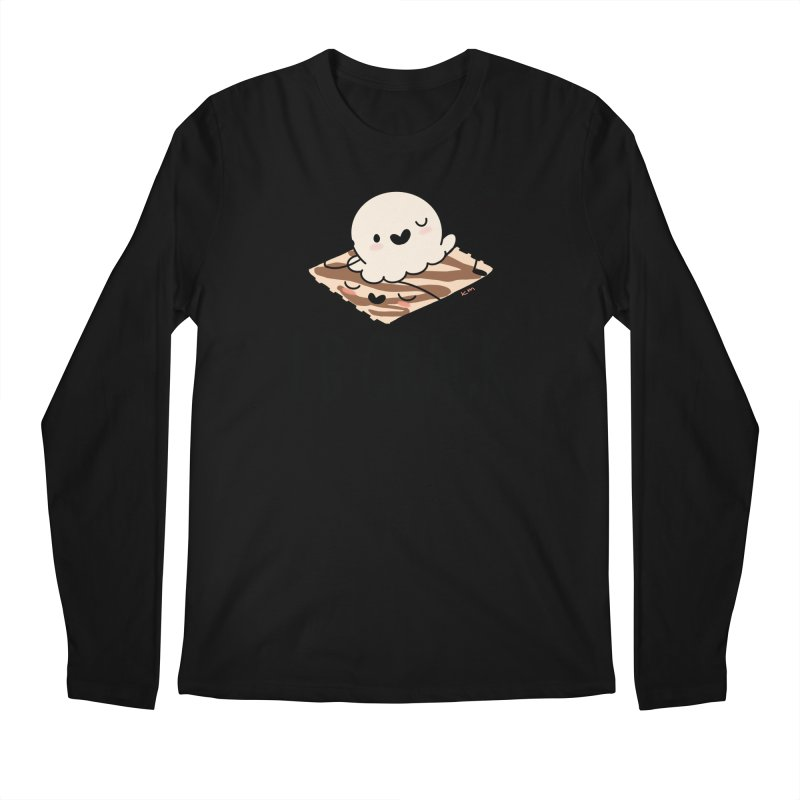 LB Crack Men's Longsleeve T-Shirt by Scoopie.Life
