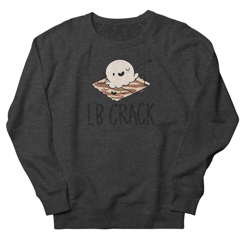 LB Crack Women's French Terry Sweatshirt by Scoopie.Life