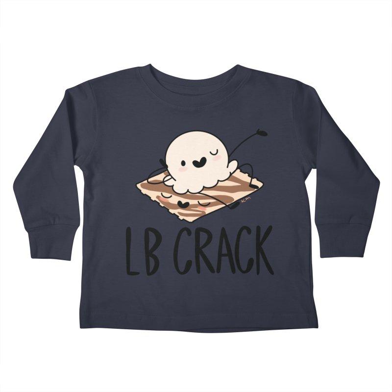 LB Crack Kids Toddler Longsleeve T-Shirt by Scoopie.Life