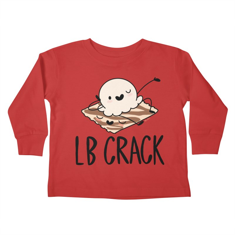LB Crack Kids Toddler Longsleeve T-Shirt by Scoopie.Life