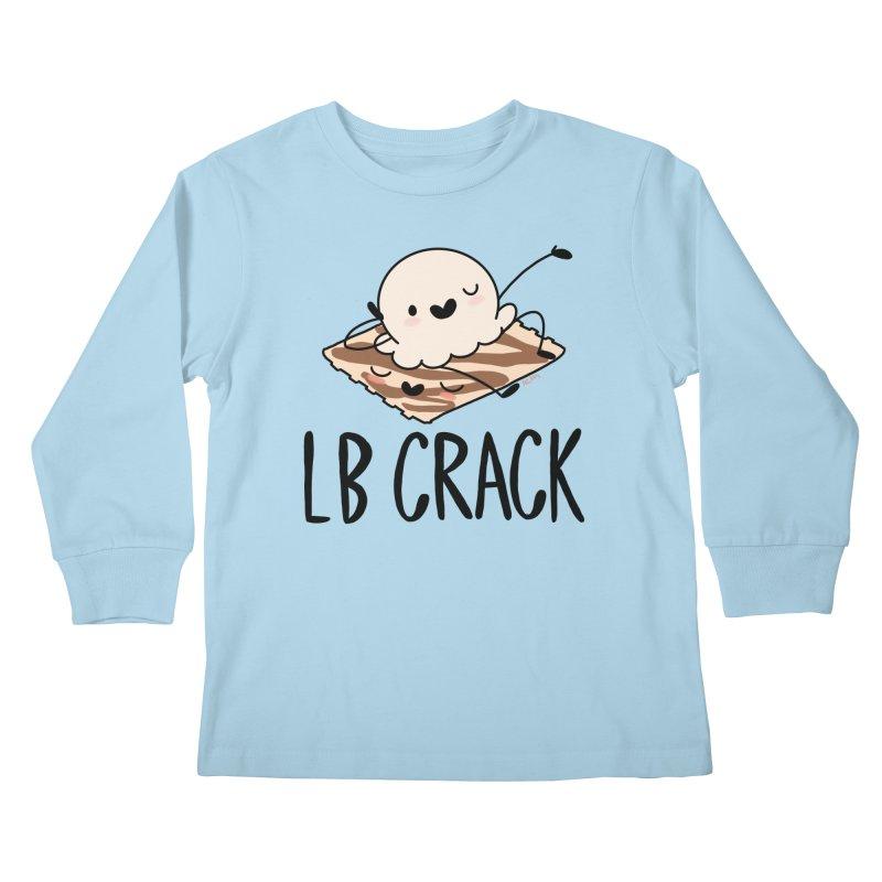 LB Crack Kids Longsleeve T-Shirt by Scoopie.Life