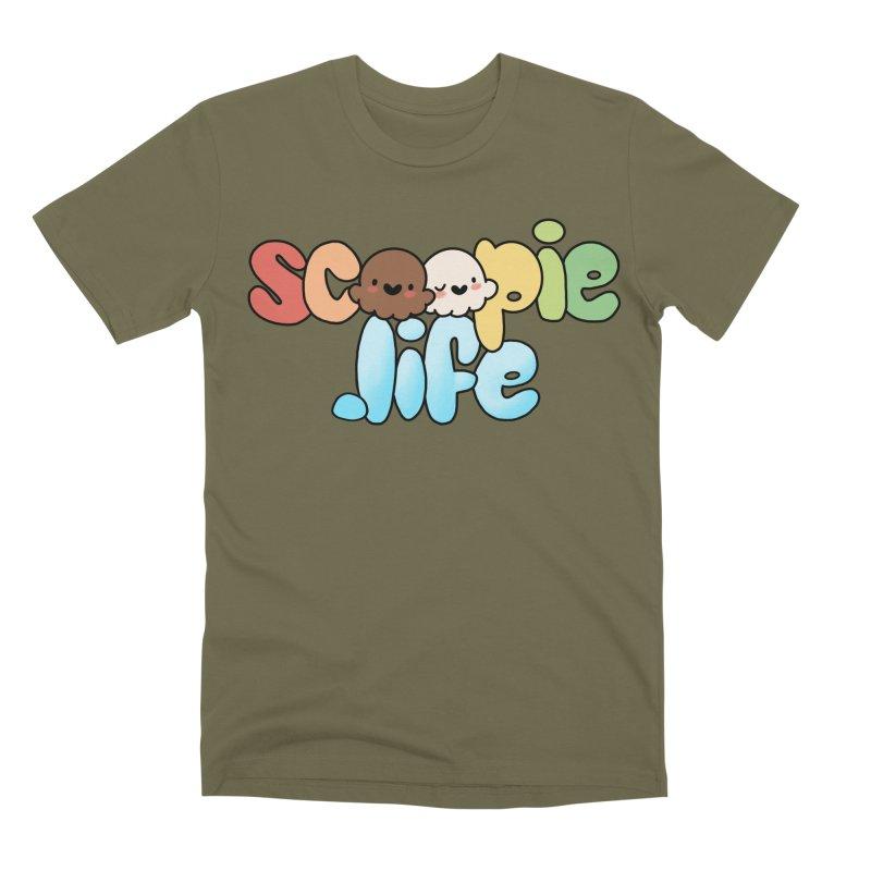 Scoopie Life - stacked version Men's Premium T-Shirt by Scoopie.Life