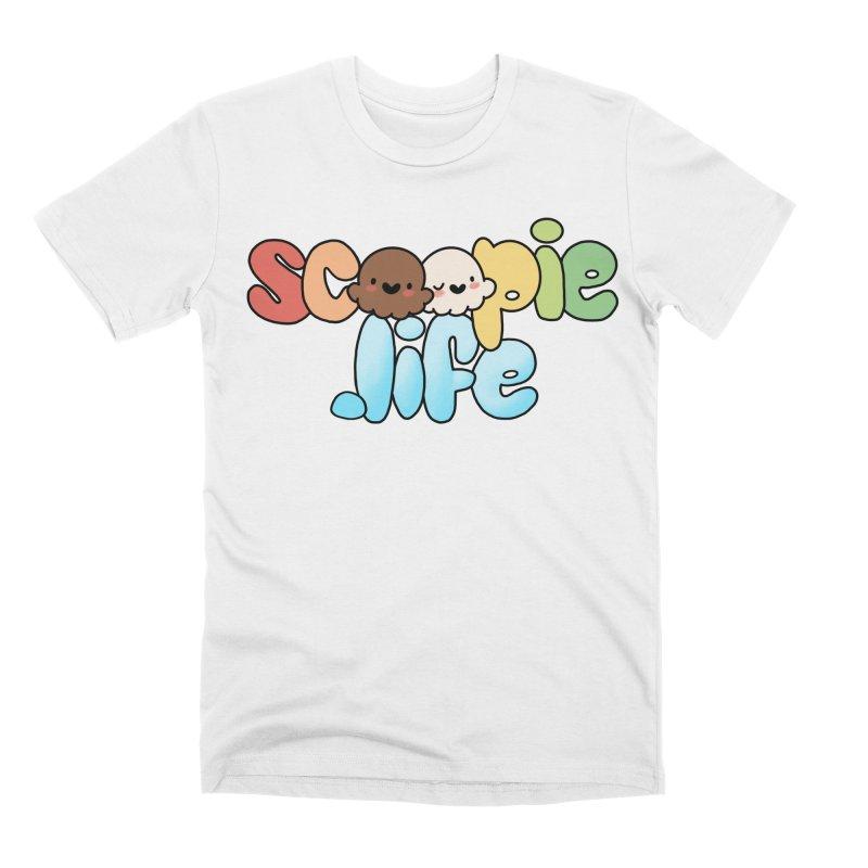 Scoopie Life - stacked version Men's T-Shirt by Scoopie.Life