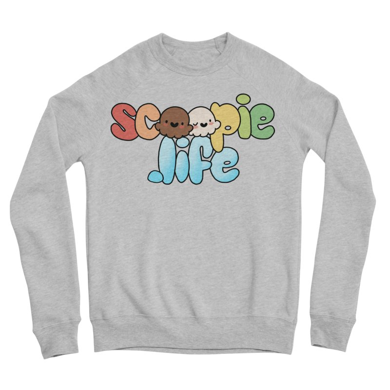 Scoopie Life - stacked version Women's Sponge Fleece Sweatshirt by Scoopie.Life