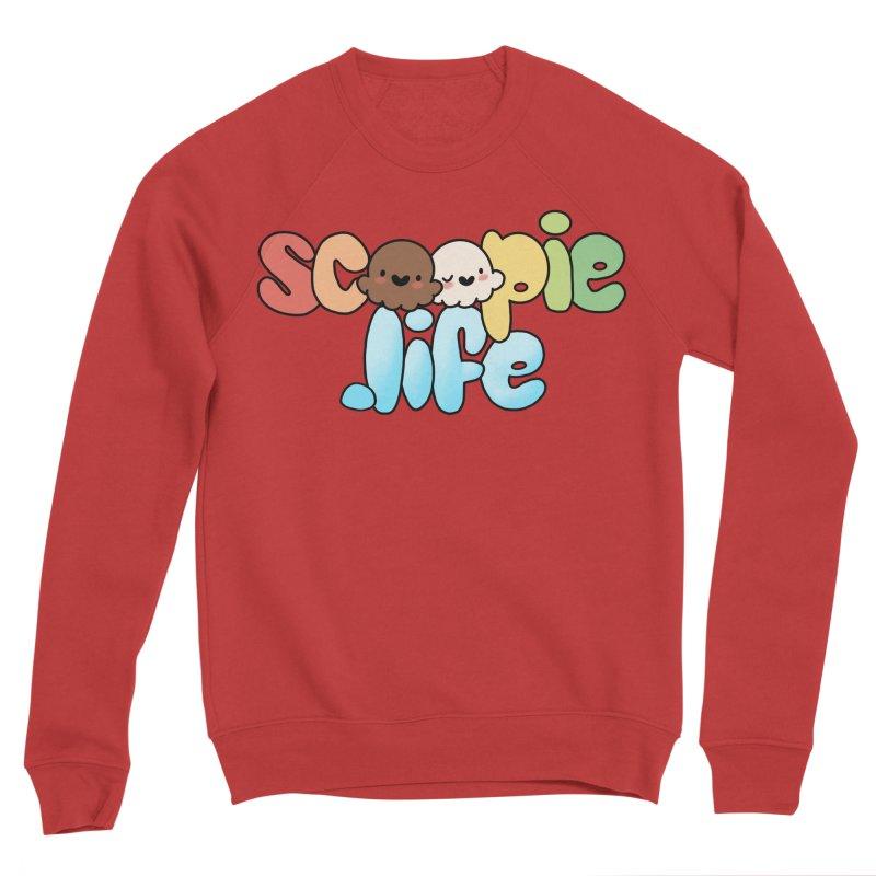 Scoopie Life - stacked version Women's Sponge Fleece Sweatshirt by Scoopie.Life