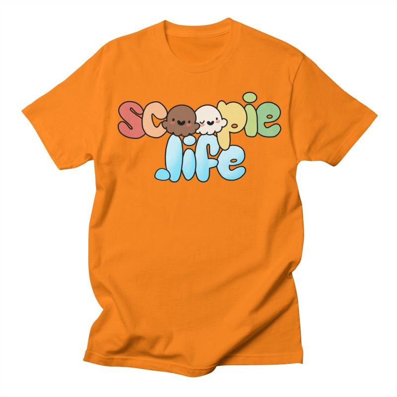 Scoopie Life - stacked version Men's Regular T-Shirt by Scoopie.Life