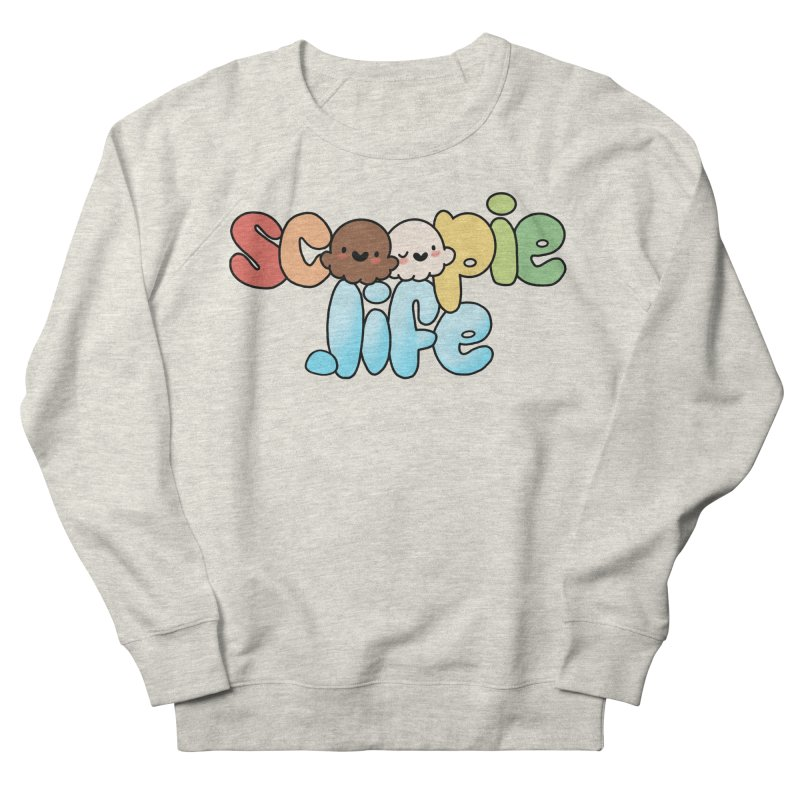 Scoopie Life - stacked version Men's French Terry Sweatshirt by Scoopie.Life