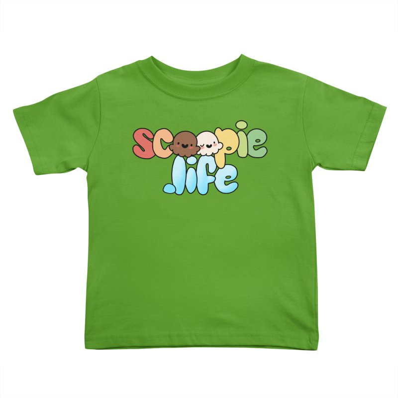Scoopie Life - stacked version Kids Toddler T-Shirt by Scoopie.Life