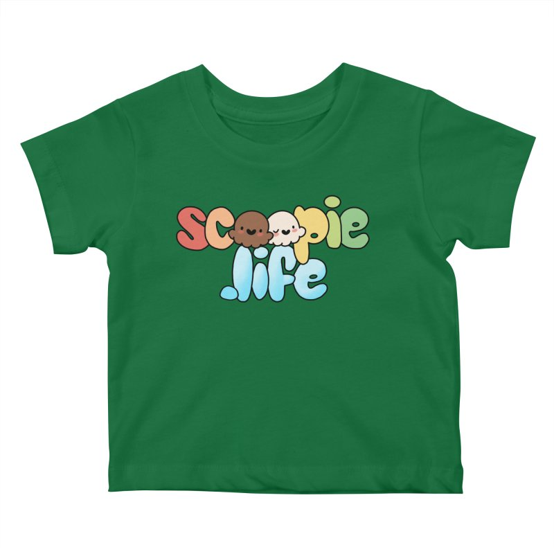 Scoopie Life - stacked version Kids Baby T-Shirt by Scoopie.Life