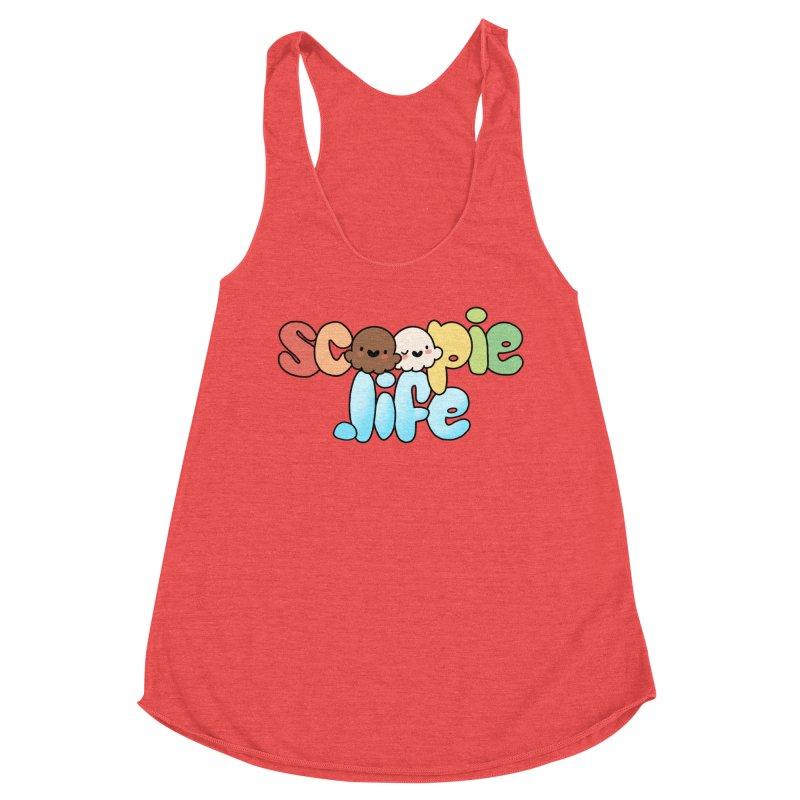 Scoopie Life - stacked version Women's Tank by Scoopie.Life