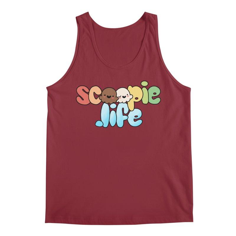 Scoopie Life - stacked version Men's Tank by Scoopie.Life