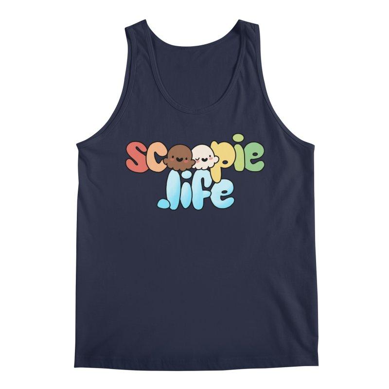 Scoopie Life - stacked version Men's Regular Tank by Scoopie.Life