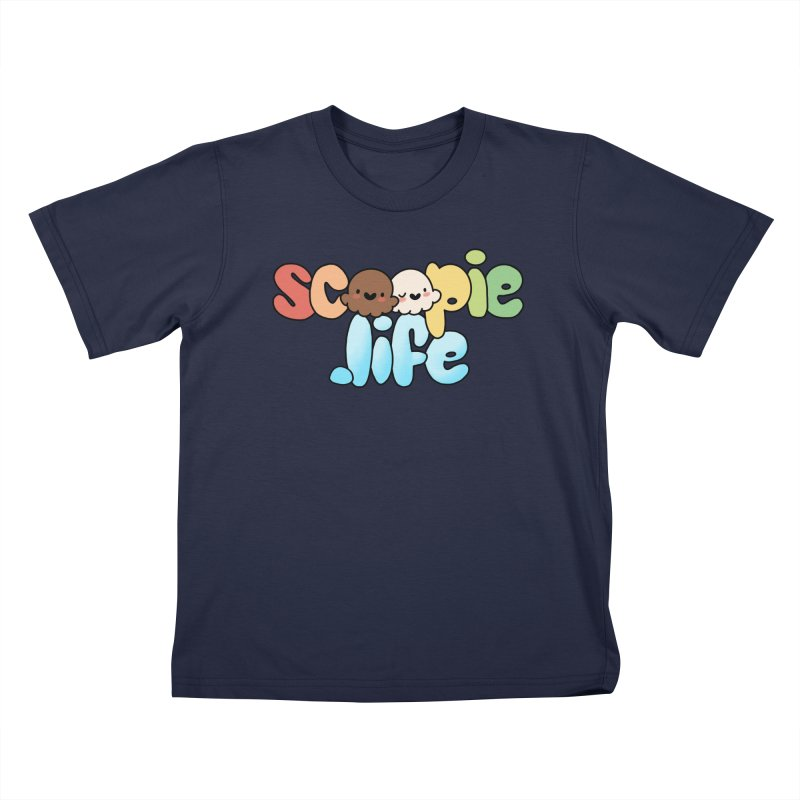 Scoopie Life - stacked version Kids T-Shirt by Scoopie.Life