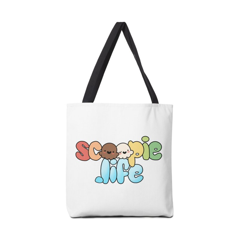 Scoopie Life - stacked version Accessories Bag by Scoopie.Life