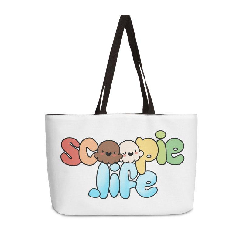 Scoopie Life - stacked version Accessories Weekender Bag Bag by Scoopie.Life