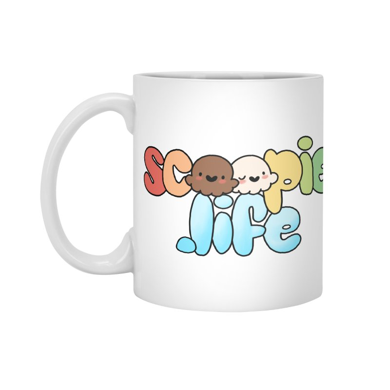 Scoopie Life - stacked version Accessories Standard Mug by Scoopie.Life
