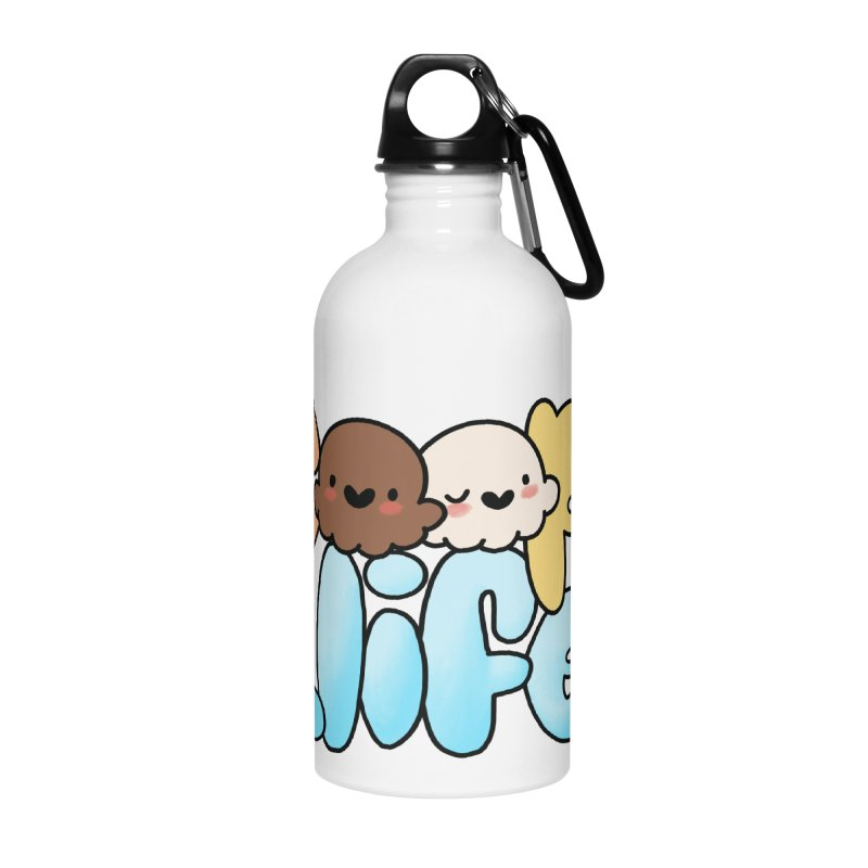 Scoopie Life - stacked version Accessories Water Bottle by Scoopie.Life