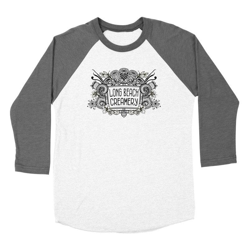 Long Beach Creamery Logo Men's Longsleeve T-Shirt by Scoopie.Life
