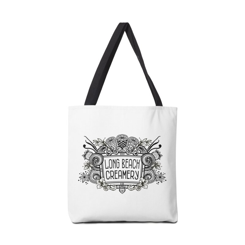 Long Beach Creamery Logo Accessories Tote Bag Bag by Scoopie.Life