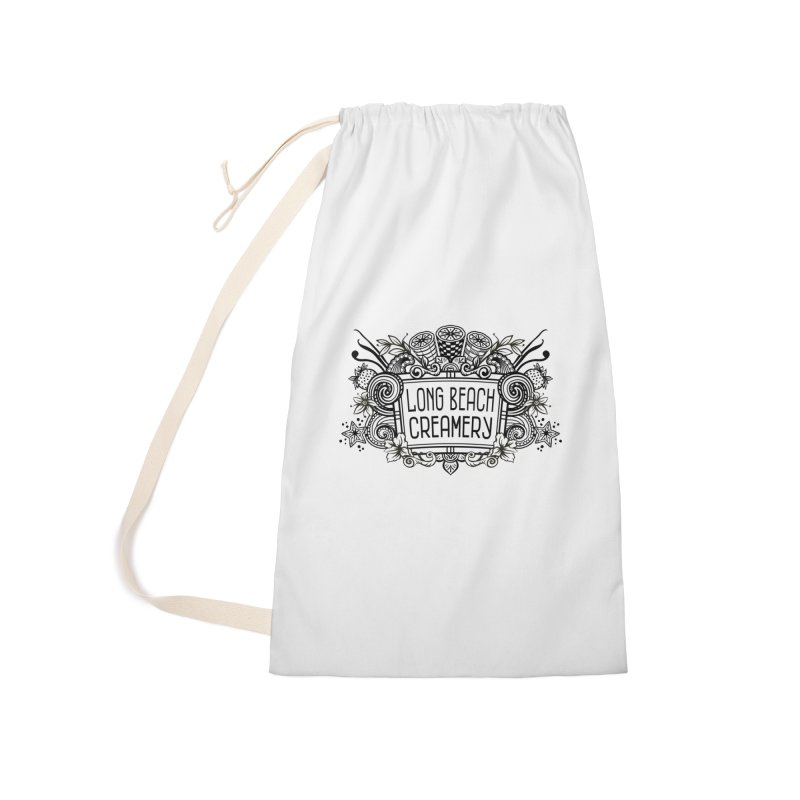 Long Beach Creamery Logo Accessories Laundry Bag Bag by Scoopie.Life