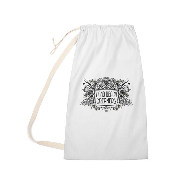 Long Beach Creamery Logo Accessories Bag by Scoopie.Life