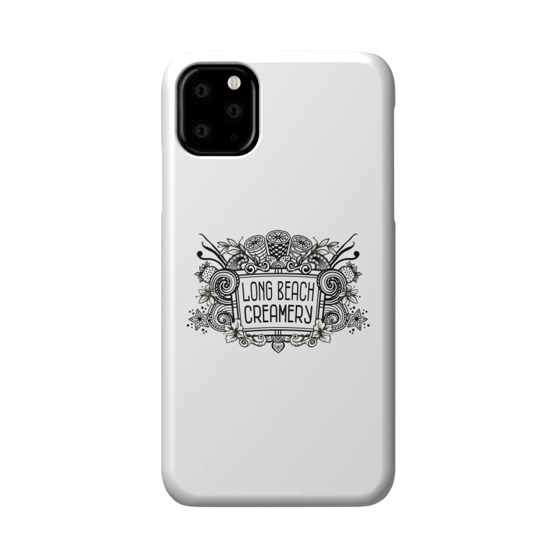 Long Beach Creamery Logo Accessories Phone Case by Scoopie.Life