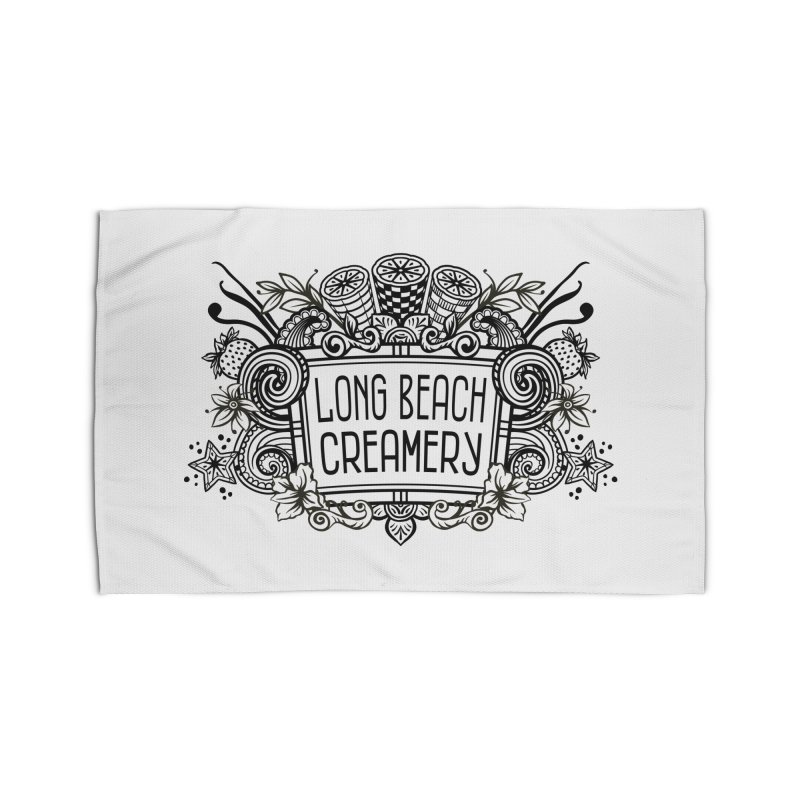 Long Beach Creamery Logo Home Rug by Scoopie.Life