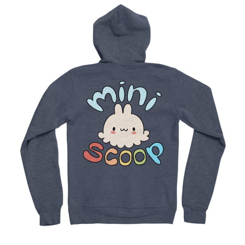 Mini Scoop Men's Sponge Fleece Zip-Up Hoody by Scoopie.Life