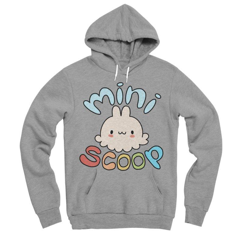 Mini Scoop Men's Sponge Fleece Pullover Hoody by Scoopie.Life