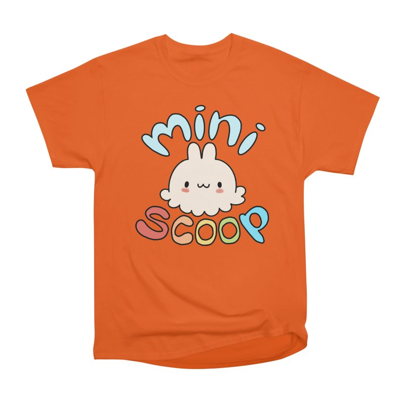 Mini Scoop Men's Heavyweight T-Shirt by Scoopie.Life