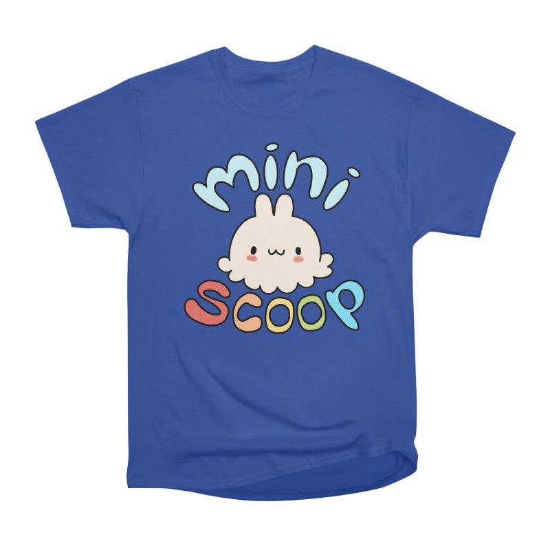 Mini Scoop Men's Heavyweight T-Shirt by Scoopie.Life