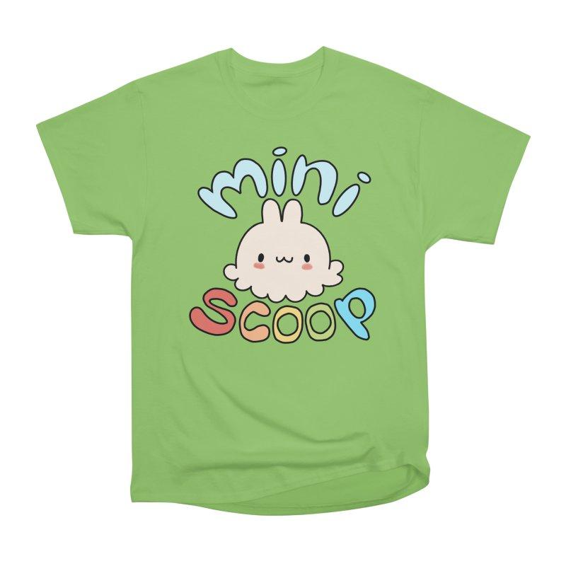 Mini Scoop Women's Heavyweight Unisex T-Shirt by Scoopie.Life