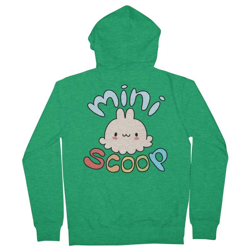 Mini Scoop Men's French Terry Zip-Up Hoody by Scoopie.Life